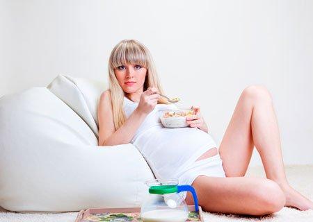 Питание беременных: белки