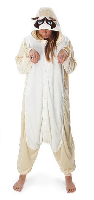 Косплей пижама Grumpy Cat