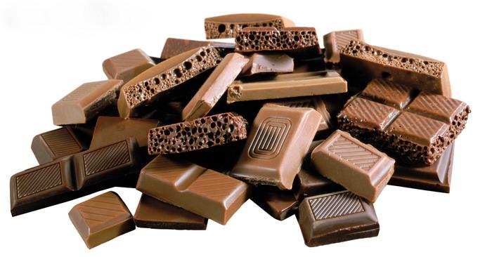 Чтобы шоколад не прибавил лишний вес