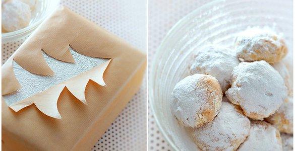 Десерт на Новый год «Снежки»