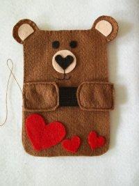 Чехол-мишка для телефона