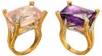 Новые кольца  Carrera y Carrera в коллекции Bambú