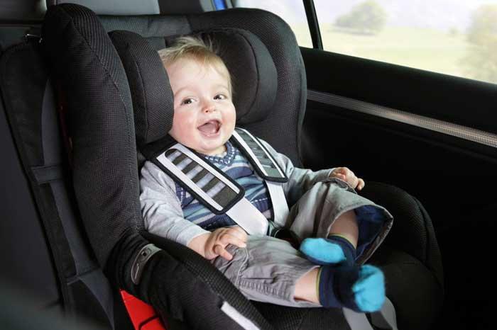 Если ребенка укачало в авто
