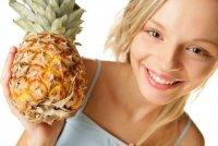 Самые бесполезные продукты для похудения: ананас