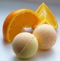 Апельсиновая бомбочка для ванны