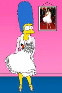 Мардж Симпсон для Vogue