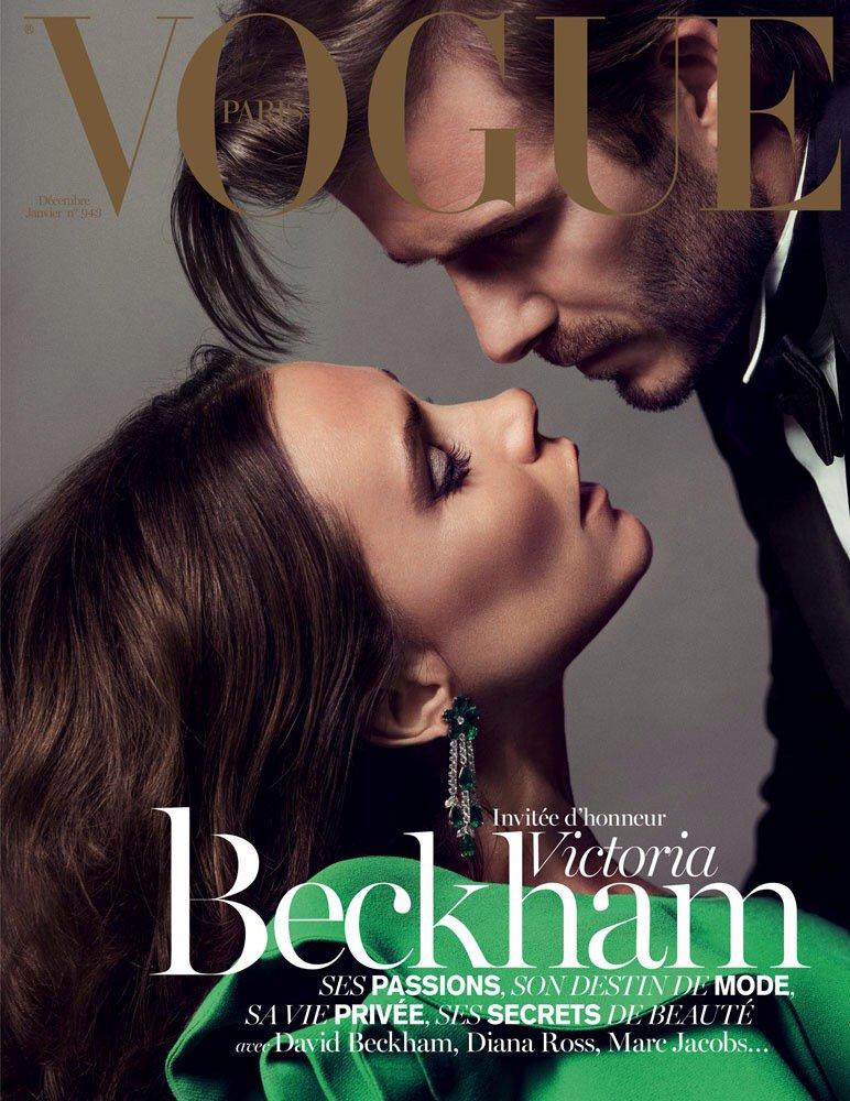 Бекхэмы для Vogue