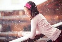 Как прекрасно выглядеть во время снегопада