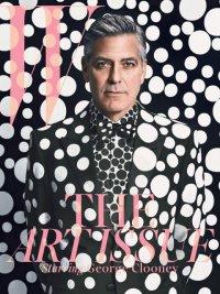 Джордж Клуни на обложке журнала W