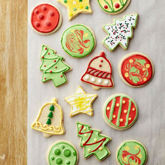Самое лучшее новогоднее печенье