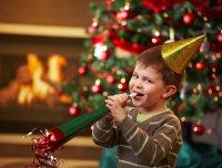 Детская игра на Новый год «Без рук»