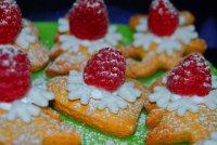 Печенья со снежинкой