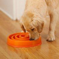 «Медлительная» миска для собаки