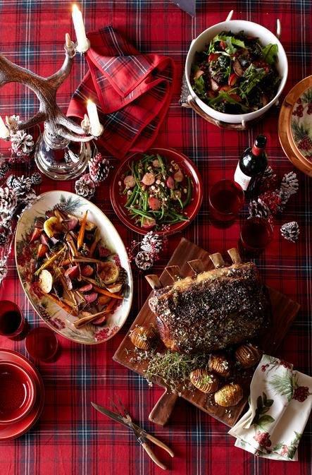 Как подать блюда на новогодний стол