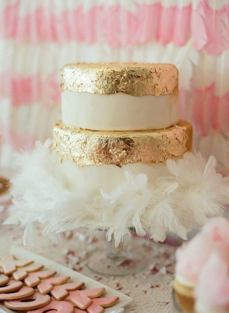 Золото и пастельно-розовый: зимний свадебный тренд 2014
