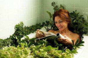 Успокаивающие травы для ванны