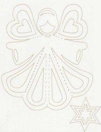 Схема для новогоднего ангела