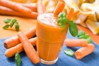 Маски из морковного сока