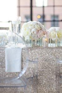 Оттенки серого и серебро: зимний свадебный тренд 2014