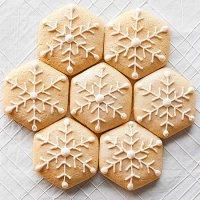Миндальное печенье на Новый год
