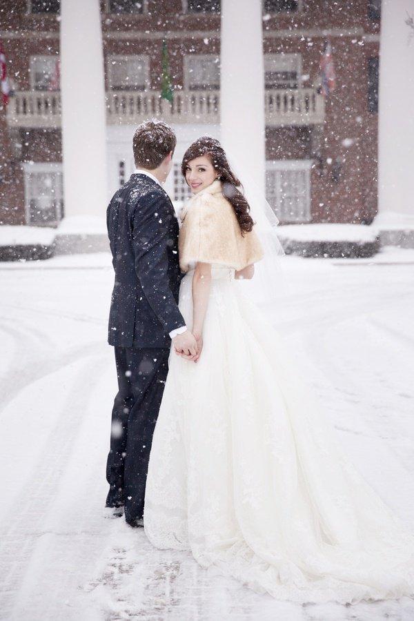 Модные свадебные тенденции: зима 2014