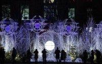 Рождественское украшение в Париже