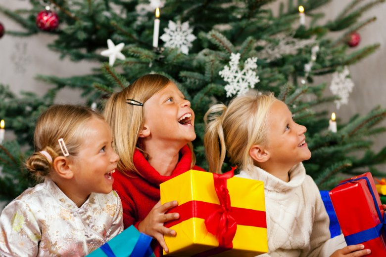 Детская игра на Новый год «Снежное задание»