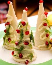 Новогодние закусочные елочки