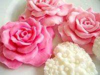 Как сделать розочку из мыла