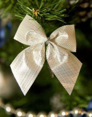 Банты для украшения елки