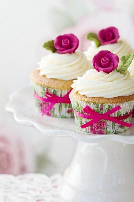 Свадебные капкейки как альтернатива торту
