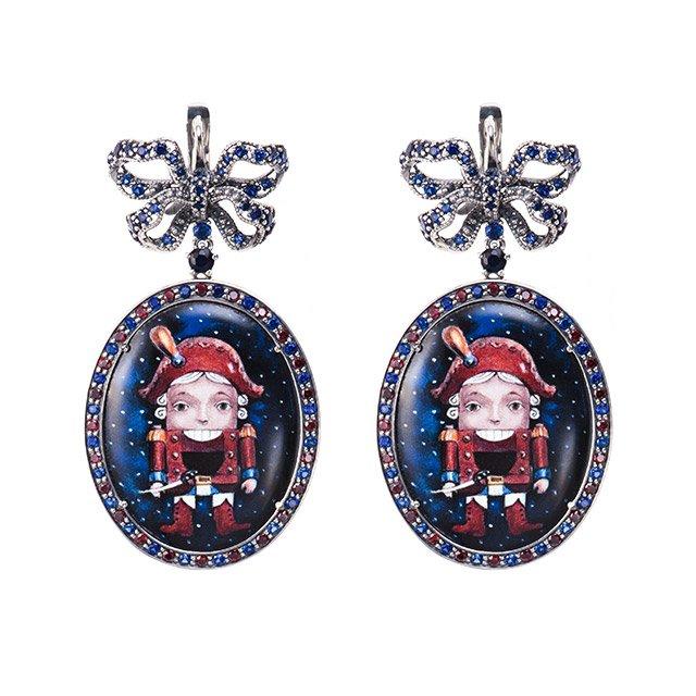Серьги из новой коллекции Axenoff Jewellery