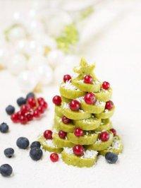 Сырое печенье на Новый год