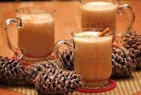 Горячий зимний коктейль с ромом и маслом