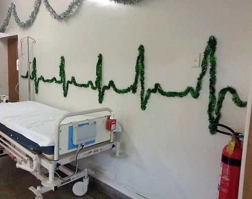 Тематическое украшение для больницы