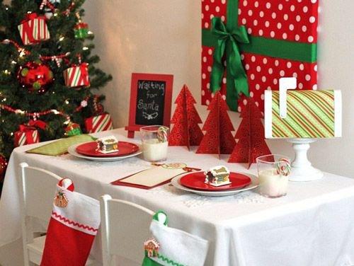 Как накрыть детский новогодний стол