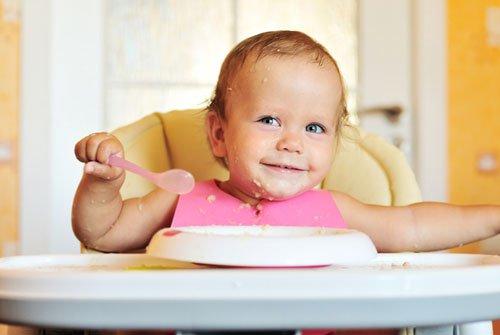 Особенности питания годовалого ребенка