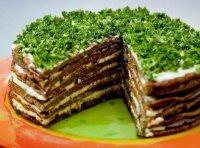 Самый вкусный печеночный торт из говяжьей печени