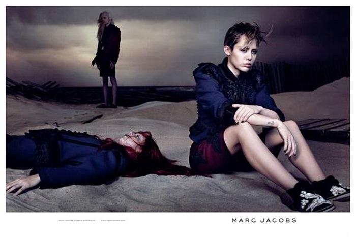 Майли Сайрус - новое лицо Marc Jacobs