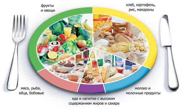 Правильное питание: меню на день