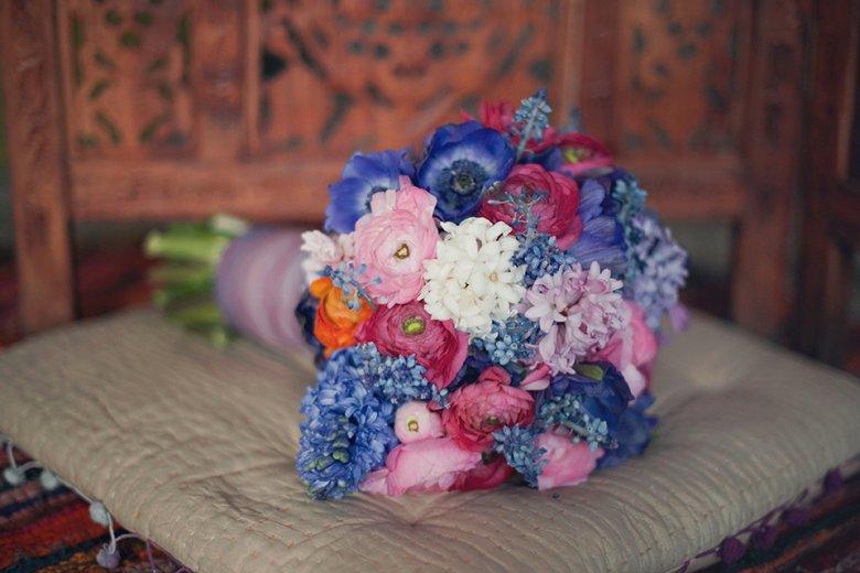 Букет невесты в восточном стиле