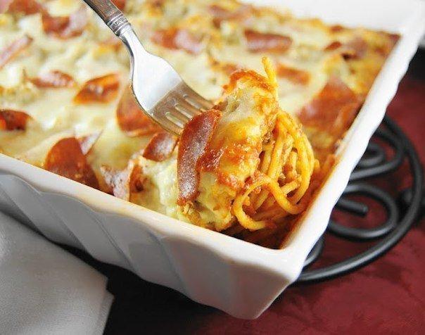 Пицца-спагетти