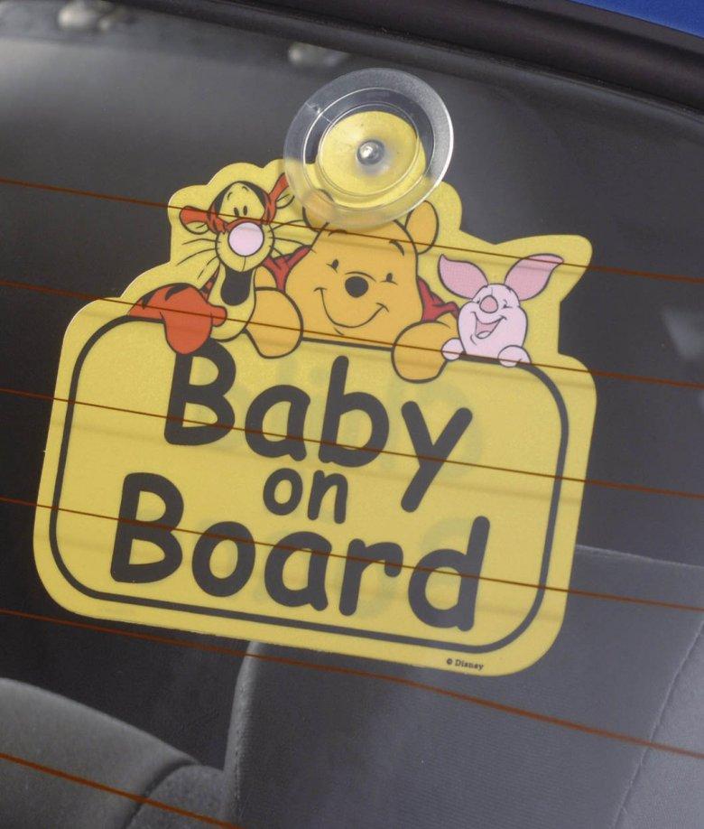 Что надо иметь при себе, если в машине ребенок