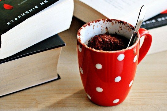 Шоколадный кекс в кружке за 5 минут