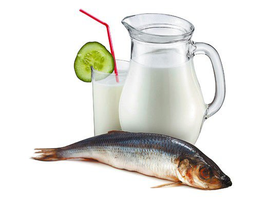 Законы несочетаемости, или почему молоко не заедают селедкой