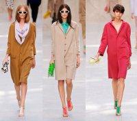 Модные пальто 2014: оверсайз