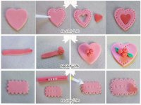 Варианты украшений из мастики на День святого Валентина
