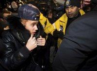 Джастин Бибер добровольно сдался полиции в Торонто