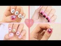 3 простые идеи маникюра на День святого Валентина