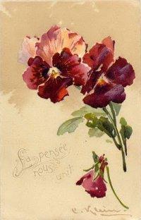 Цветы для декупажа